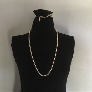 Long Pearl Necklace Monet 30in